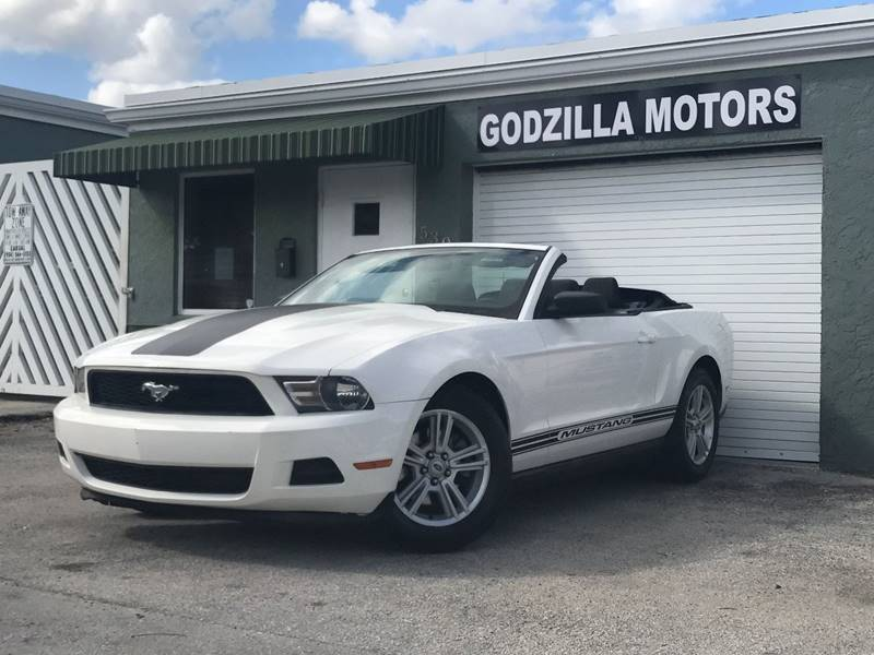 2012 FORD MUSTANG V6 PREMIUM 2DR CONVERTIBLE white exhaust - dual tip exhaust tip color - stainl