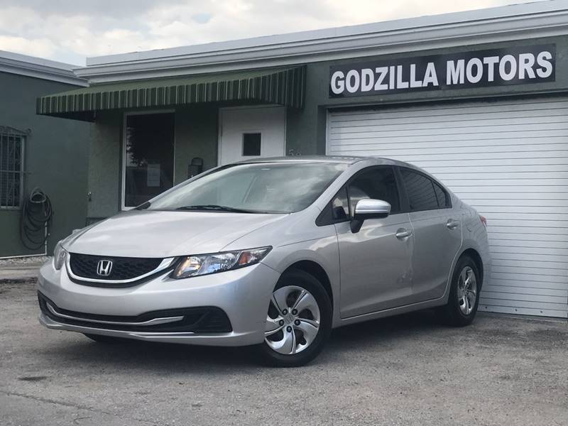 2014 HONDA CIVIC LX 4DR SEDAN CVT titanium this one is ready to drive home and show off   do