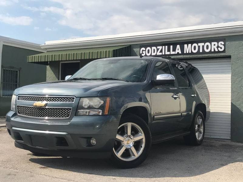 2008 CHEVROLET TAHOE LTZ 4X4 4DR SUV blue this one is ready to drive home and show off   don