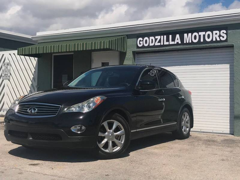 2009 INFINITI EX35 JOURNEY 4DR CROSSOVER black this one is ready to drive home and show off