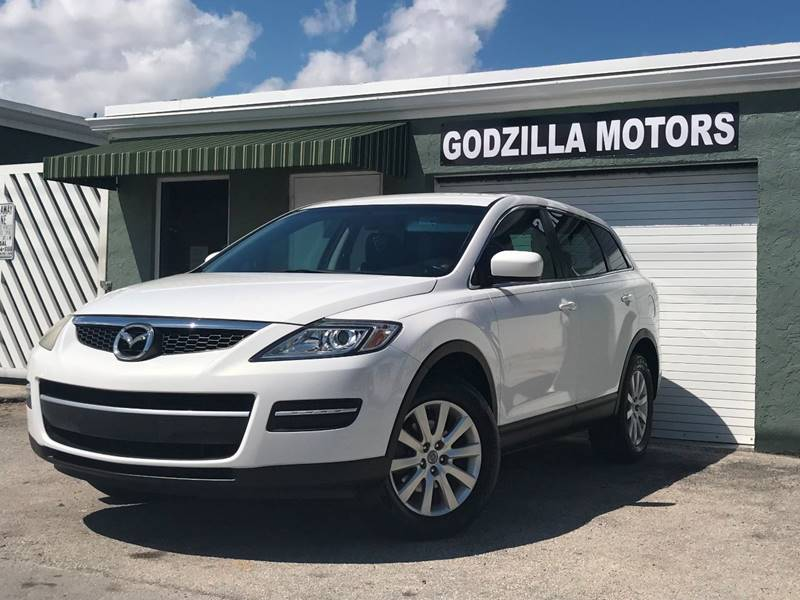 2009 MAZDA CX-9 TOURING 4DR SUV white this one is ready to drive home and show off   dont wa