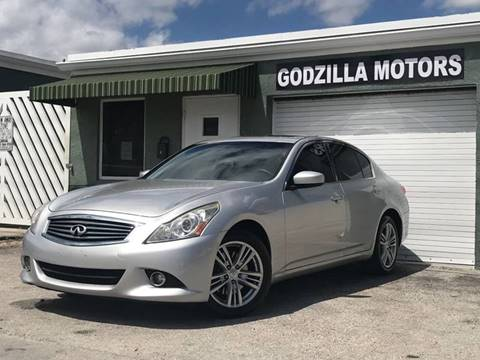 2012 Infiniti G25 Sedan for sale in Fort Lauderdale, FL