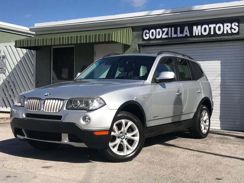 2010 BMW X3 XDRIVE30I AWD 4DR SUV silver this one is ready to drive home and show off   dont