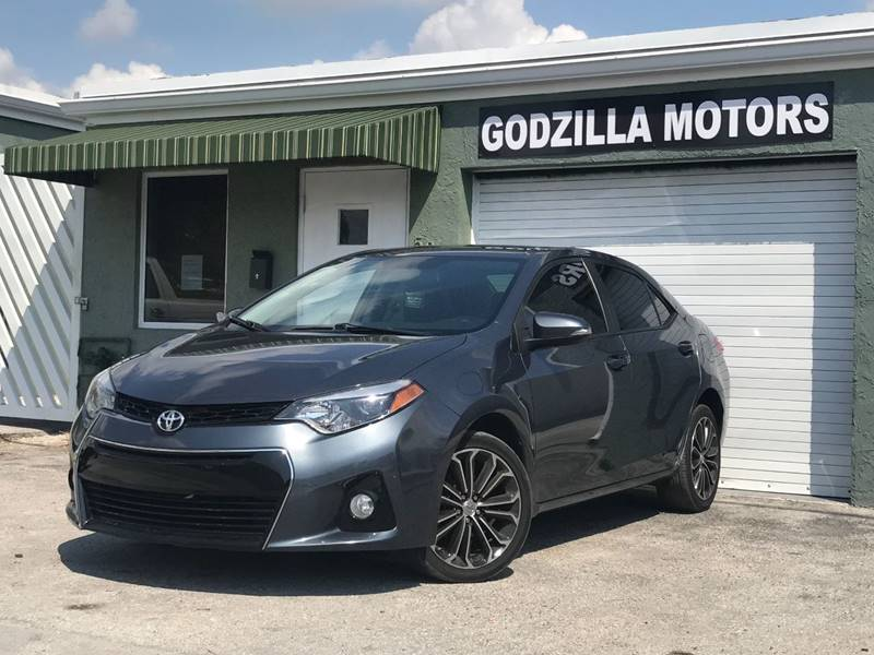 2014 TOYOTA COROLLA S PLUS PLUPLU4DR SEDAN CVT gray this one is ready to drive home and show off