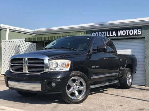 2007 Dodge Ram Pickup 1500 for sale in Fort Lauderdale, FL
