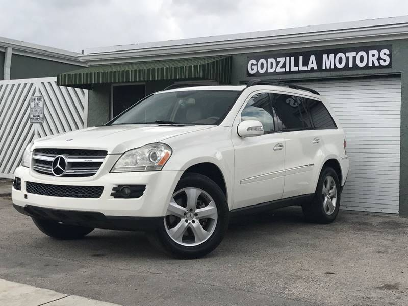 2007 MERCEDES-BENZ GL-CLASS GL 450 AWD 4MATIC 4DR SUV white this one is ready to drive home and s
