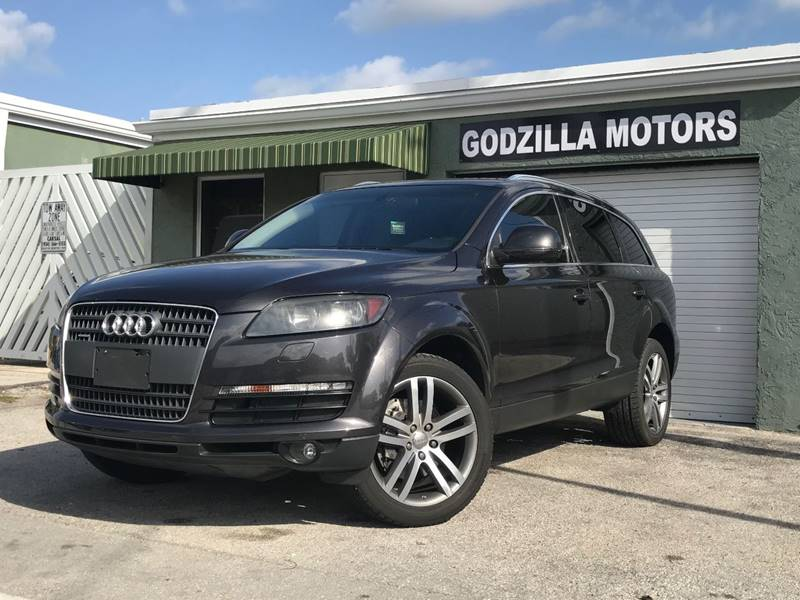 2009 AUDI Q7 36 QUATTRO AWD PREMIUM 4DR SUV gray trailer hitch - ready mirror color - body-colo