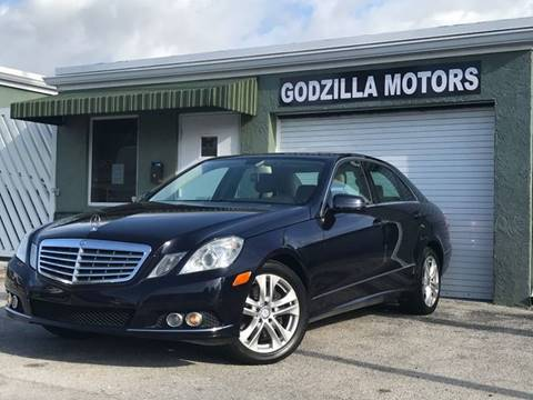 2011 Mercedes-Benz E-Class for sale in Fort Lauderdale, FL