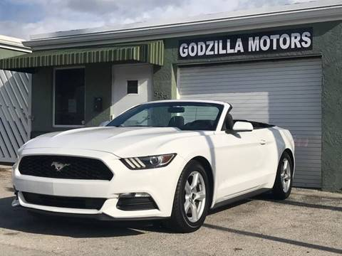 2015 Ford Mustang for sale in Fort Lauderdale, FL