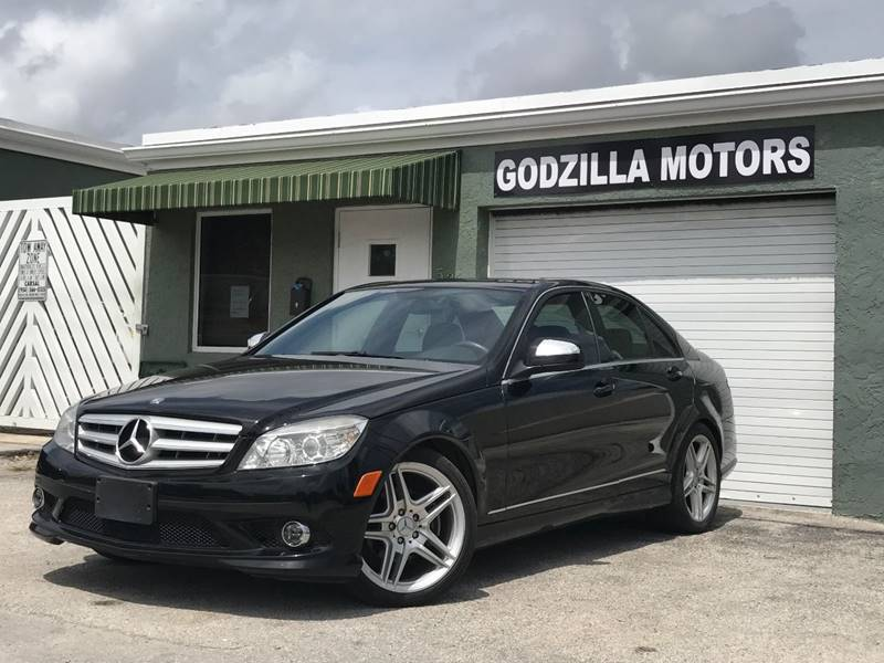 2009 MERCEDES-BENZ C-CLASS C 300 LUXURY 4DR SEDAN black this one is ready to drive home and show