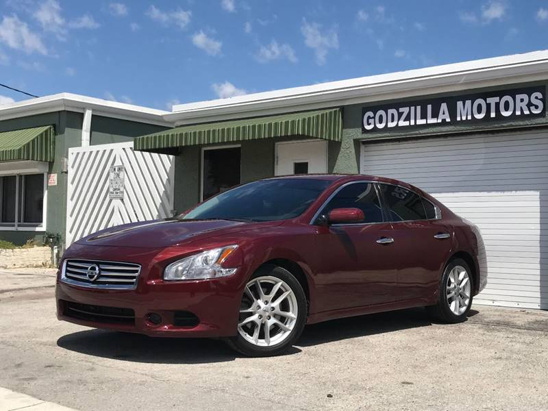 2013 NISSAN MAXIMA 35 SV 4DR SEDAN burgundy this one is ready to drive home and show off do
