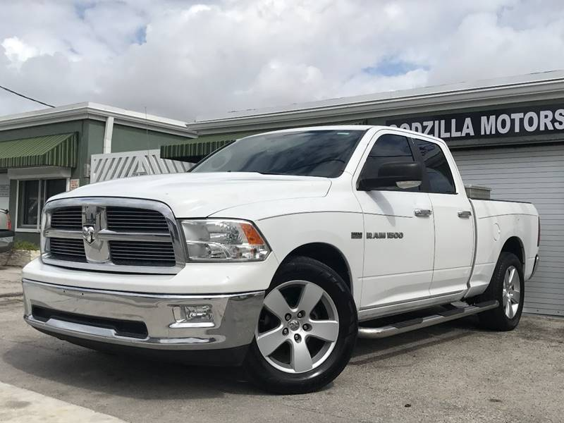 2011 RAM RAM PICKUP 1500 BIG HORN 4X2 4DR QUAD CAB 63 FT white this one is ready to drive home a