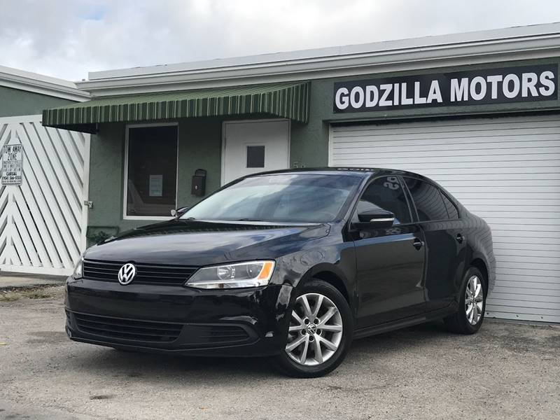 2012 VOLKSWAGEN JETTA SE PZEV 4DR SEDAN 6A W CONVENIE black this one is ready to drive home and