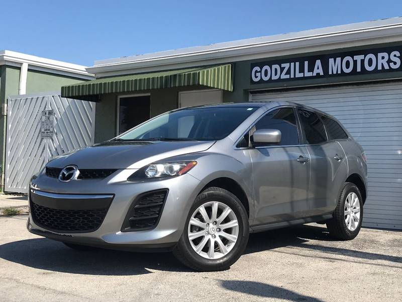 2011 MAZDA CX-7 I SV 4DR SUV gray this one is ready to drive home and show off dont wait to