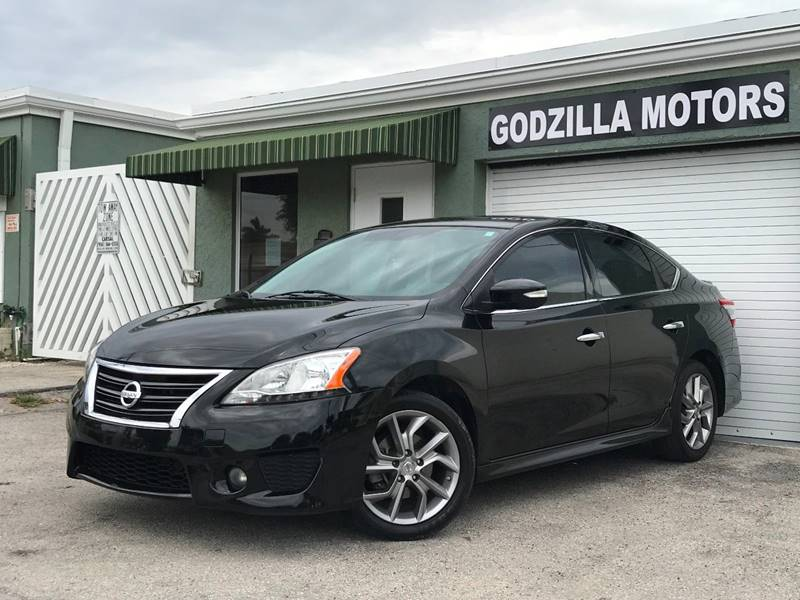 2015 NISSAN SENTRA SR 4DR SEDAN black this one is ready to drive home and show off dont wait