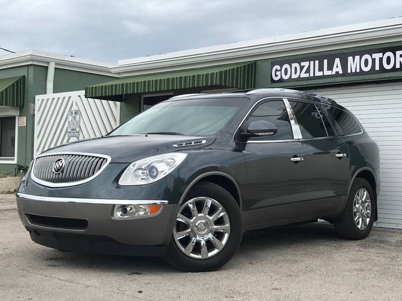 2012 BUICK ENCLAVE LEATHER 4DR SUV gray this one is ready to drive home and show off  dont w