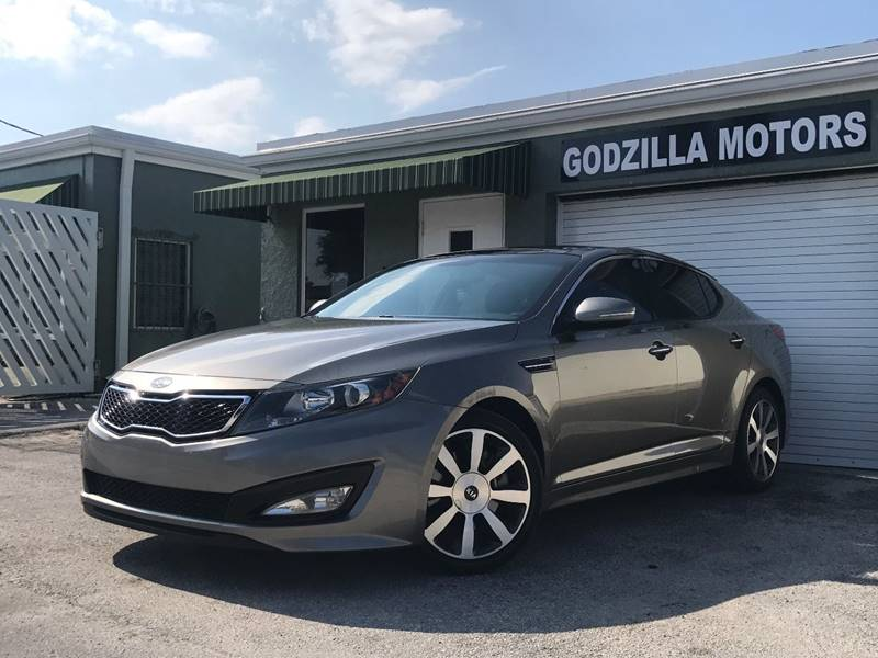 2012 KIA OPTIMA SX TURBO 4DR SEDAN 6A champagne this one is ready to drive home and show off
