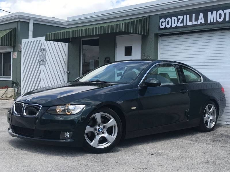 2008 BMW 3 SERIES 328I 2DR COUPE green this one is ready to drive home and show off   dont w