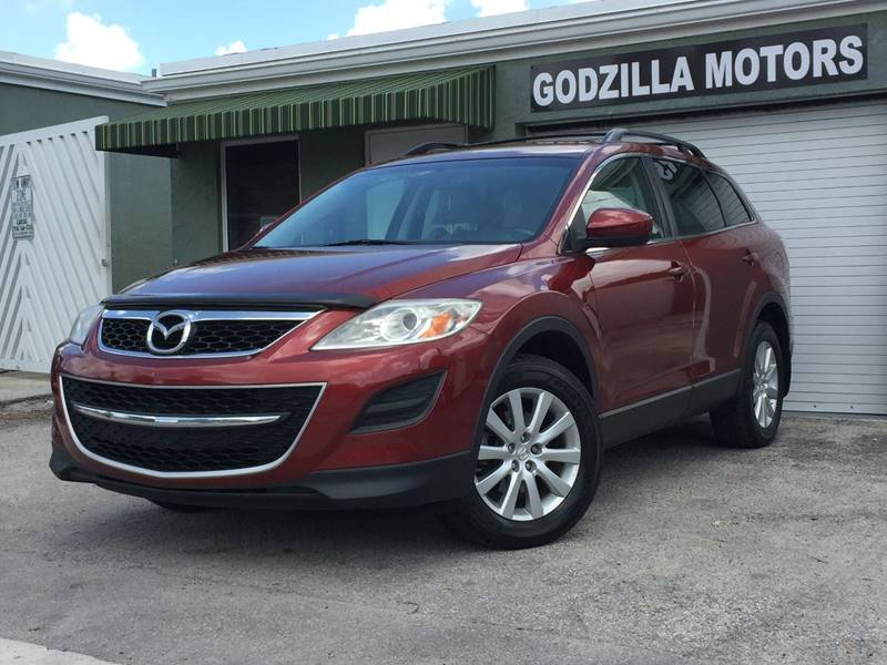 2010 MAZDA CX-9 GRAND TOURING 4DR SUV red this one is ready to drive home and show off  dont