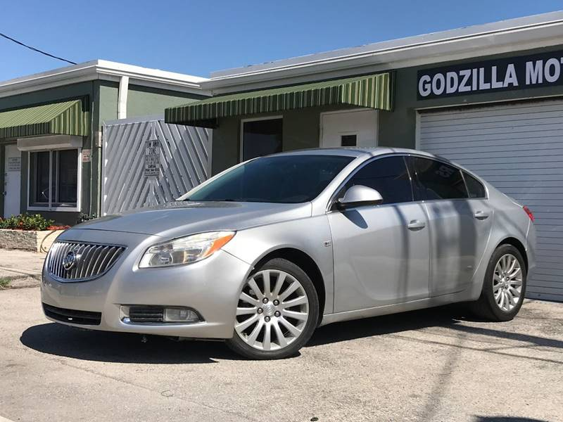 2011 BUICK REGAL CXL 4DR SEDAN WRL1 gray this one is ready to drive home and show off   don