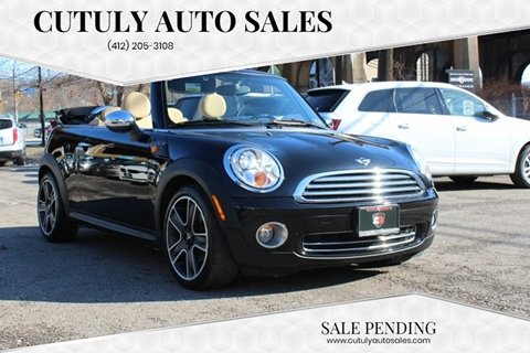 2009 MINI Cooper for sale at Cutuly Auto Sales in Pittsburgh PA