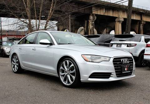 2014 Audi A6 for sale at Cutuly Auto Sales in Pittsburgh PA