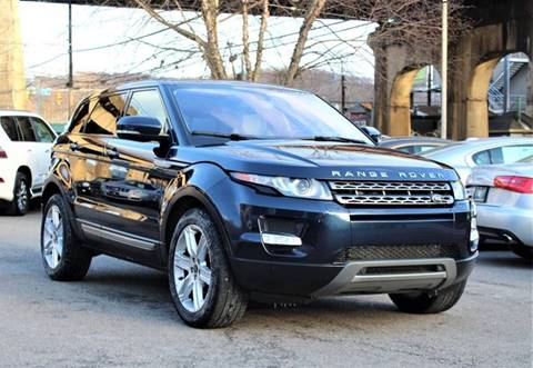 2013 Land Rover Range Rover Evoque for sale at Cutuly Auto Sales in Pittsburgh PA