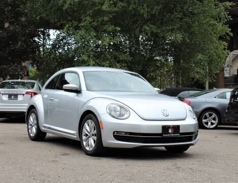 2013 Volkswagen Beetle for sale at Cutuly Auto Sales in Pittsburgh PA