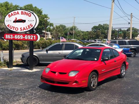 2002 Pontiac Sunfire for sale in Lakeland, FL