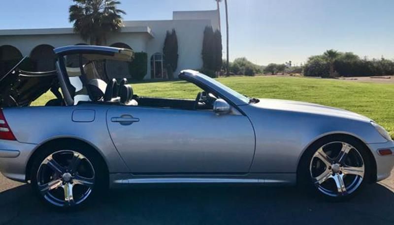 2001 Mercedes-Benz SLK for sale at Tucson Used Auto Sales in Tucson AZ