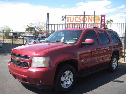 2007 Chevrolet Tahoe for sale at Tucson Used Auto Sales in Tucson AZ
