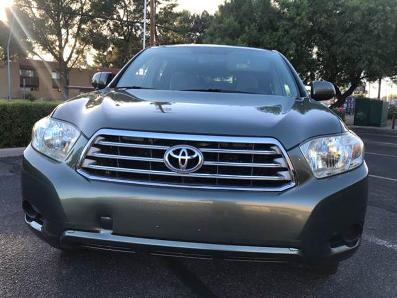 2009 Toyota Highlander for sale at Tucson Used Auto Sales in Tucson AZ