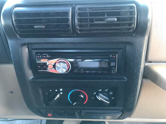 1999 Jeep Wrangler for sale at Tucson Used Auto Sales in Tucson AZ