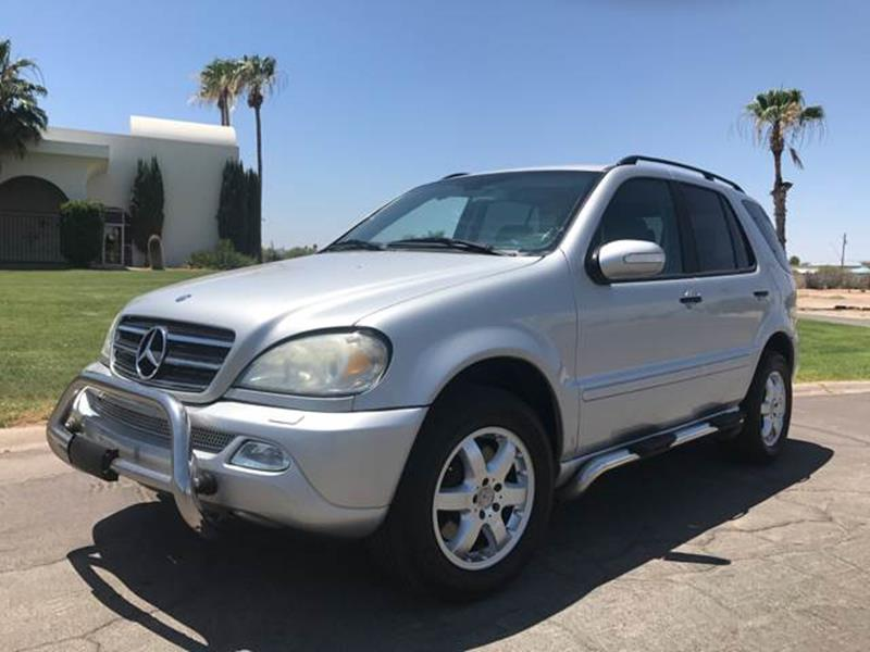 2002 Mercedes-Benz M-Class for sale at Tucson Used Auto Sales in Tucson AZ