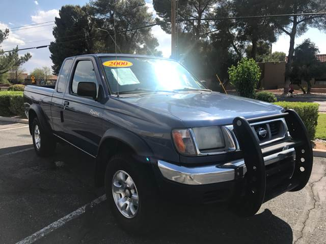2000 Nissan Frontier for sale at Tucson Used Auto Sales in Tucson AZ