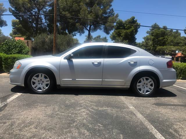 2012 Dodge Avenger for sale at Tucson Used Auto Sales in Tucson AZ