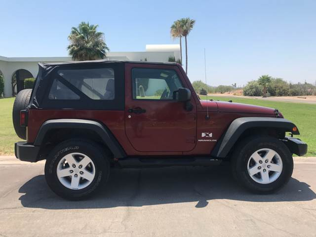 2008 Jeep Wrangler for sale at Tucson Used Auto Sales in Tucson AZ