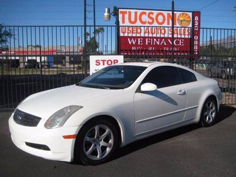 2003 Infiniti G35 for sale at Tucson Used Auto Sales in Tucson AZ