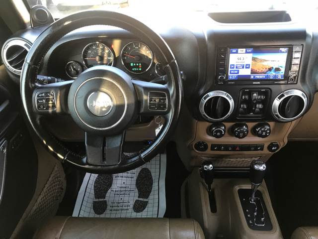 2012 Jeep Wrangler Unlimited for sale at Tucson Used Auto Sales in Tucson AZ