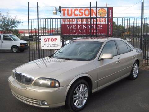 2004 Lincoln LS for sale at Tucson Used Auto Sales in Tucson AZ