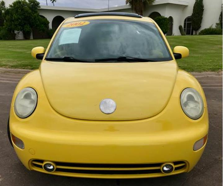 2002 Volkswagen New Beetle for sale at Tucson Used Auto Sales in Tucson AZ