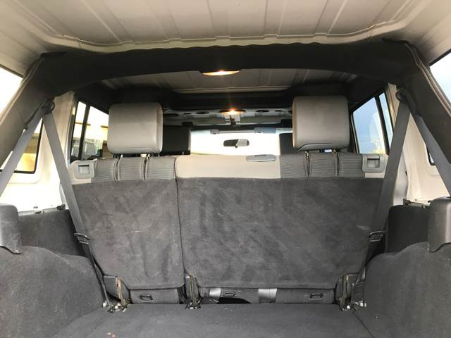 2007 Jeep Wrangler Unlimited for sale at Tucson Used Auto Sales in Tucson AZ