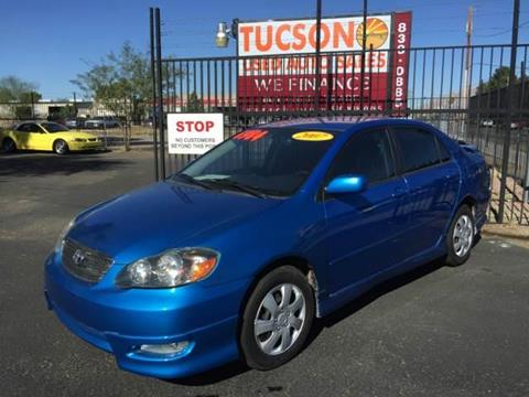 2007 Toyota Corolla for sale at Tucson Used Auto Sales in Tucson AZ