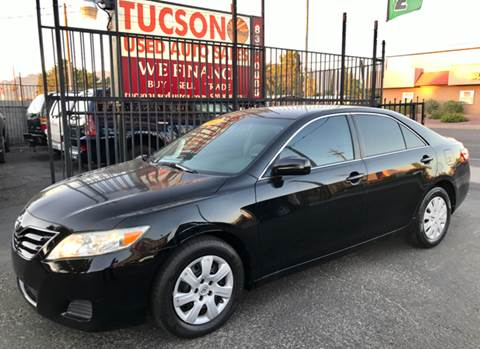 2011 Toyota Camry for sale at Tucson Used Auto Sales in Tucson AZ