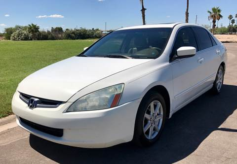 2004 Honda Accord for sale at Tucson Used Auto Sales in Tucson AZ