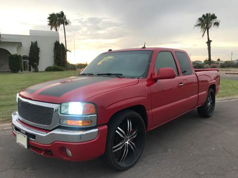 2004 GMC Sierra 1500 for sale at Tucson Used Auto Sales in Tucson AZ