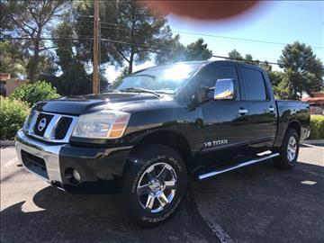 2006 Nissan Titan for sale at Tucson Used Auto Sales in Tucson AZ