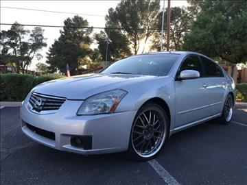2007 Nissan Maxima for sale at Tucson Used Auto Sales in Tucson AZ