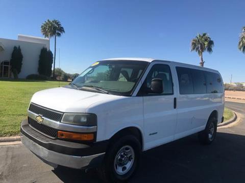 2004 Chevrolet Express Passenger For Sale In Tucson AZ