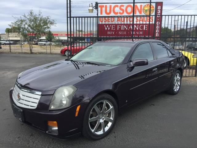 2006 Cadillac CTS for sale at Tucson Used Auto Sales in Tucson AZ